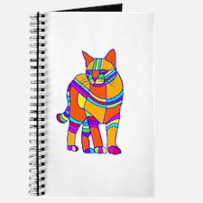 Stripped Cat Journal