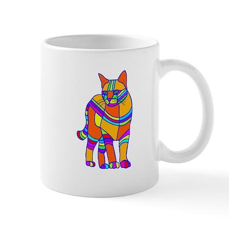 Stripped Cat Mug
