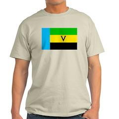 Venda Ash Grey T-Shirt