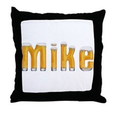 Mike Beer Throw Pillow