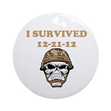 survived Ornament (Round)