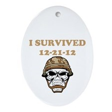 survived Ornament (Oval)
