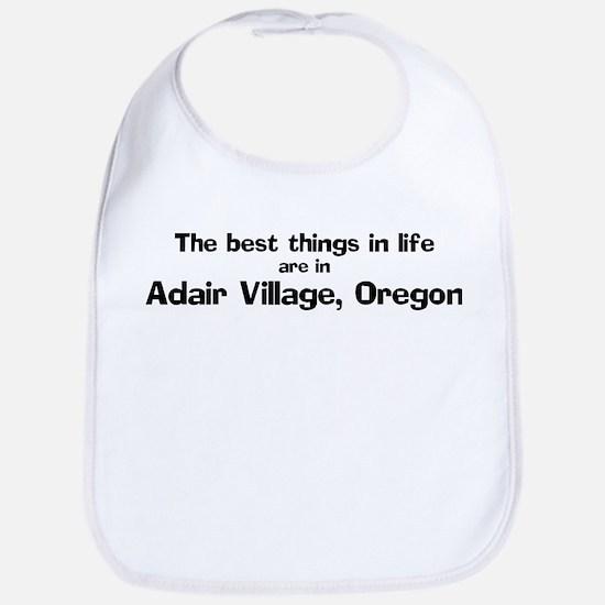 Adair Village: Best Things Bib