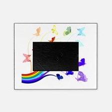 Butterflies and Rainbows Picture Frame
