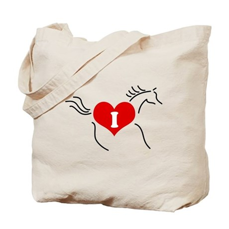 I Love Horses - Tote Bag