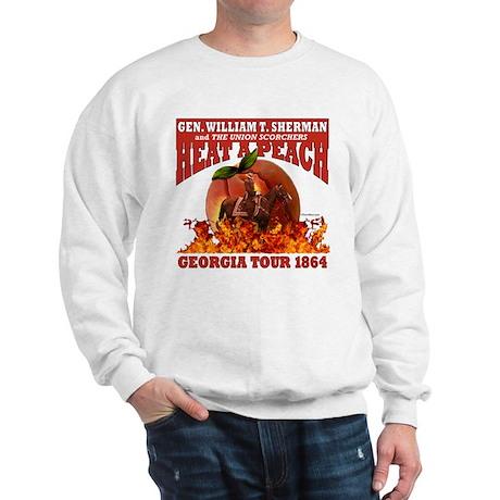 Gen. Sherman 'Heat a Peach' Sweatshirt