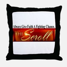 The Scroll Throw Pillow