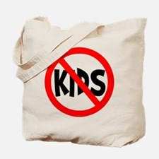 No Kids Tote Bag