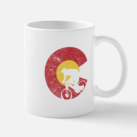 Mountain Bike Colorado Mugs