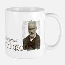 Victor Hugo as long as reading matters Small Small Mug