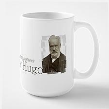 Victor Hugo as long as reading matters Mug