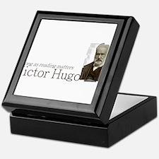 Victor Hugo as long as reading matters Keepsake Bo