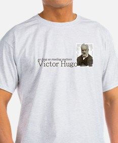 Victor Hugo as long as reading matters T-Shirt