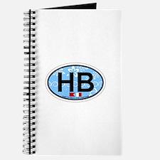 Hampton Beach NH - Oval Design. Journal