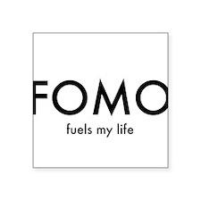 """FOMO Square Sticker 3"""" x 3"""""""