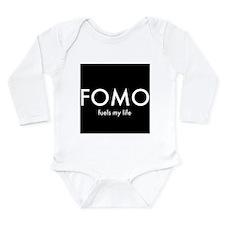 FOMO 2 Long Sleeve Infant Bodysuit