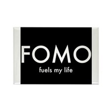 FOMO 2 Rectangle Magnet