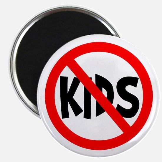 """No Kids 2.25"""" Magnet (100 pack)"""