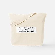 Barton: Best Things Tote Bag