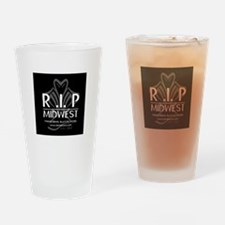 RIP Ghost Drinking Glass