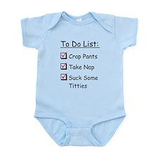 Baby Checklist Infant Bodysuit