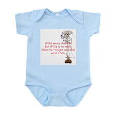 willie Infant Bodysuit