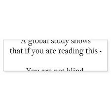 Global Study Bumper Sticker