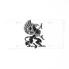 Griffin (Grunge Texture) Aluminum License Plate