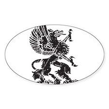 Griffin (Grunge Texture) Decal