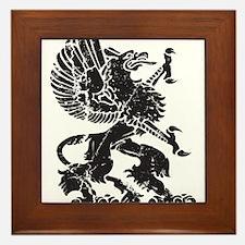 Griffin (Grunge Texture) Framed Tile