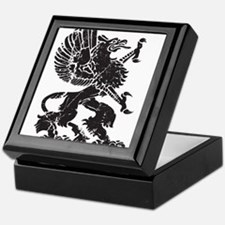 Griffin (Grunge Texture) Keepsake Box