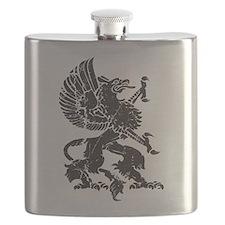 Griffin (Grunge Texture) Flask