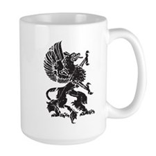 Griffin (Grunge Texture) Mug