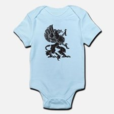 Griffin (Grunge Texture) Infant Bodysuit
