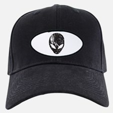 Alien Head (Grunge Texture) Baseball Hat