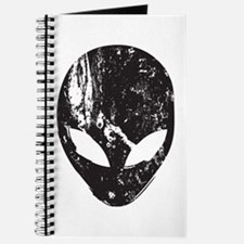 Alien Head (Grunge Texture) Journal