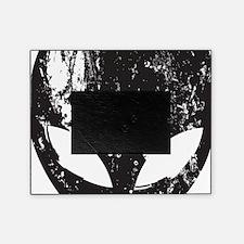 Alien Head (Grunge Texture) Picture Frame