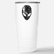Alien Head (Grunge Texture) Travel Mug