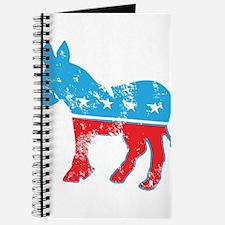 Democrat Donkey (Grunge Texture) Journal