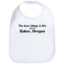 Baker: Best Things Bib