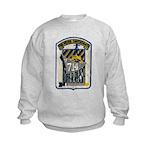 USS WILLIAM R. RUSH Kids Sweatshirt