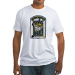 USS WILLIAM R. RUSH Fitted T-Shirt