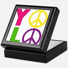 PEACE YOLO Keepsake Box