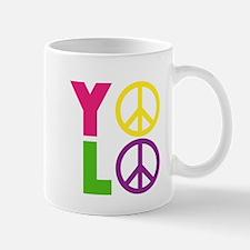PEACE YOLO Mug