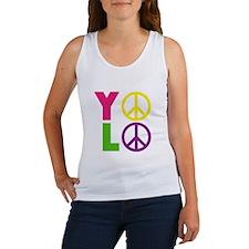 PEACE YOLO Women's Tank Top