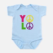 PEACE YOLO Infant Bodysuit