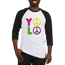 PEACE YOLO Baseball Jersey