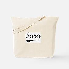 Vintage: Sara Tote Bag