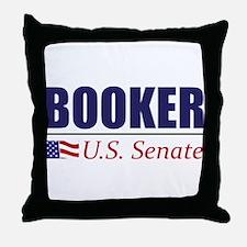 Cory Booker for U.S. Senate Throw Pillow