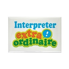 Interpreter Extraordinaire Rectangle Magnet